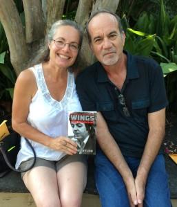 Jennifer w/ author John Taylor in New Orleans (July 2015)