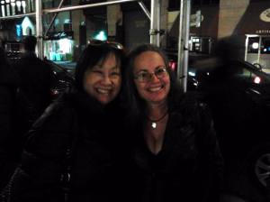 May and I at Sid Bernstein tribute show Feb. 2014