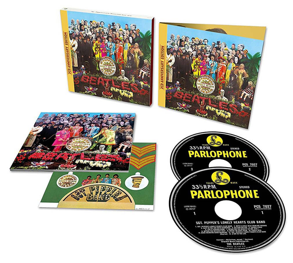 Album Cd Review Sgt Pepper S Lonely Hearts Club Band