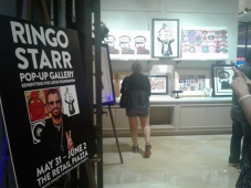 Ringo's Rock Art Show at the Borgata in Atlantic City, New Jersey