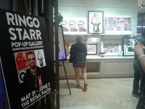 Ringo's Rock Art Show at the Borgata in Atlantic City, New Jersey