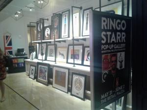 Ringo's Rock Art Show at the Borgata in Atlantic City, New Jersey June 2018